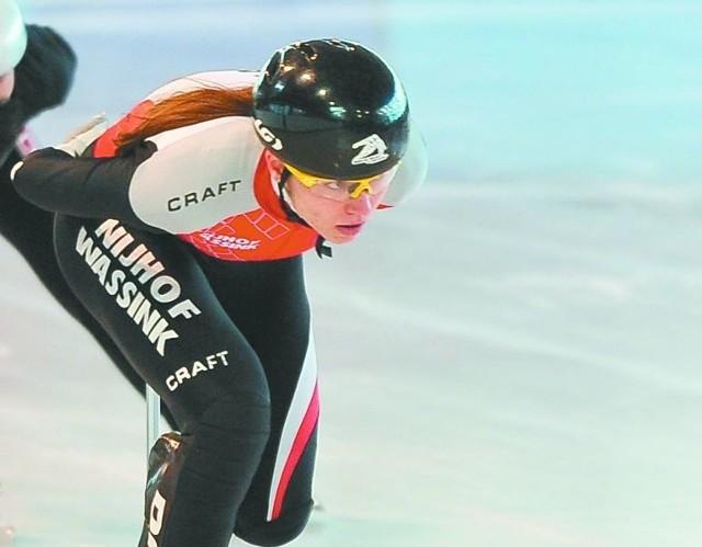 Patrycja Maliszewska z Juvenii Białystok wykorzystała szansę i awansowała do ćwierćfinału biegu na 1000 metrów