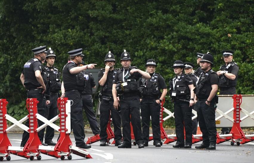 Alarm bombowy w centrum prasowym szczytu G7 w Wielkiej Brytanii. Ewakuowano ponad sto osób