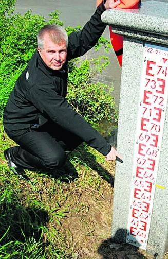 Tak marszałek Marek Łapiński lansował się podczas powodzi