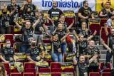 Kibice na meczu siatkarzy Trefla Gdańsk i Cuprumu Lubin. Pierwsze przywitanie z zespołem w Ergo Arenie po 200 dniach przerwy [ZDJĘCIA]