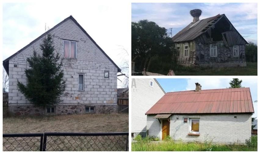 Najtańsze domy na sprzedaż Podlaskie