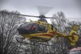 Nie żyje 2-latek z Krotoszyna. Ratowali go strażacy, na miejscu lądował śmigłowiec LPR. Co się stało? [ZDJĘCIA]