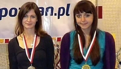 Złote dziewczyny: Agnieszka Kamińska i Katarzyna Bąk. Fot. Jocker Oświęcim