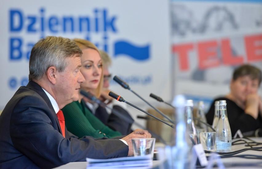 Debata o przyszłości Letnicy 30.09.2019 na stadionie Energa...