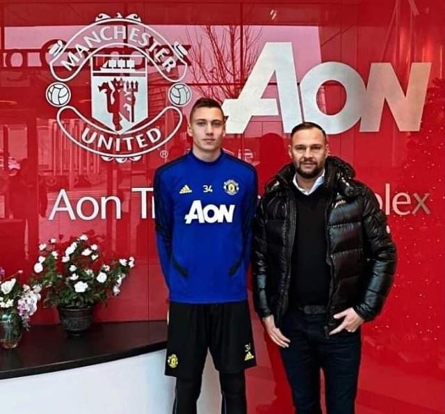 Bartłomiej Maliszewski jest na testach w Manchester United