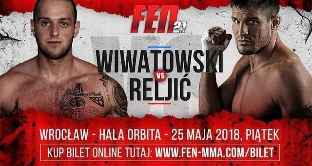 Kewin Wiwatowski (z lewej) zmierzy się z Chorwatem Goranem Reljicem już 25 maja we Wrocławiu
