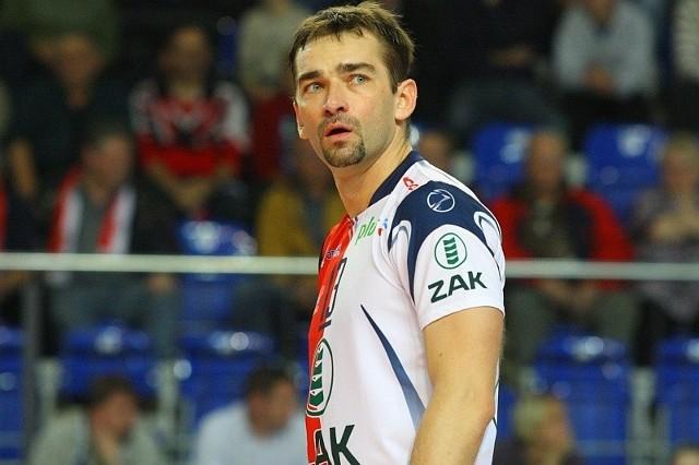 Przerwa w rozgrywkach to okazja dla Sebastiana Świderskiego (na zdjęciu) i Jurija Gladyra na powrót do dyspozycji po kontuzjach.