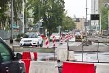 Ulica Piłsudskiego w stronę pl. Orląt otwarta. Uwaga na korki!