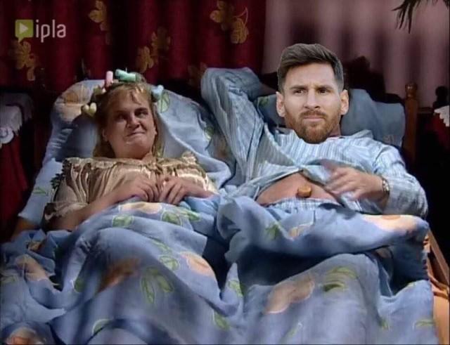 Memy o Leo Messim, który pozostaje bez kontraktu z FC Barceloną