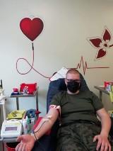 Żołnierze 12 Brygady Obrony Terytorialnej oddają krew - zebrali jej aż 21 litrów!