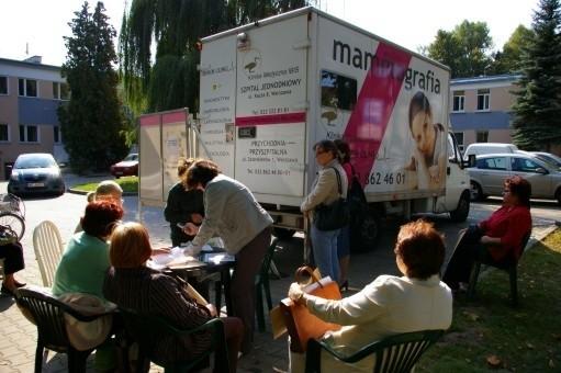 Najbliższe bezpłatne badania mammograficzne w gminie Wyszków będzie można wykonać w listopadzie