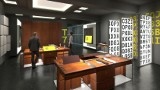 Muzeum Enigmy w Poznaniu zostanie otwarte za pół roku. Zobacz, jak będzie wyglądało jego logo oraz wnętrza