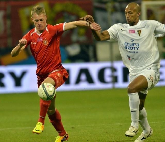 Napastnik Eduards Visnakovs może zagrać z Macedonią