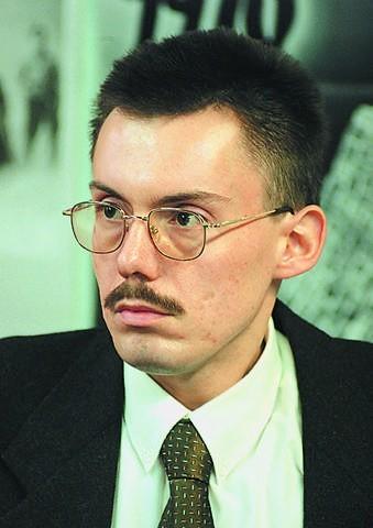Dr Tomasz Chinciński,historyk, kierownik działu naukowego Muzeum II Wojny Światowej w Gdańsku