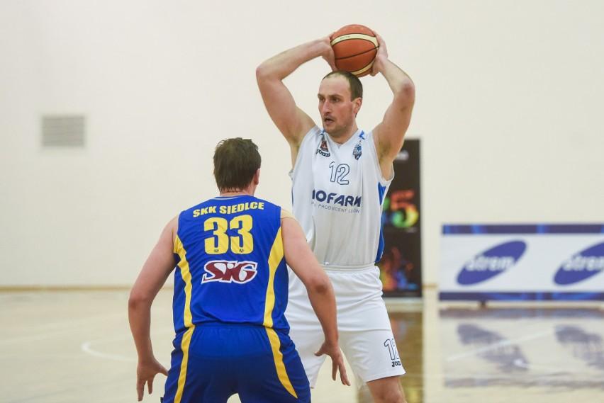 Adam Metelski zdobył w środowym spotkaniu 12 punktów dla Biofarmu Basket Poznań