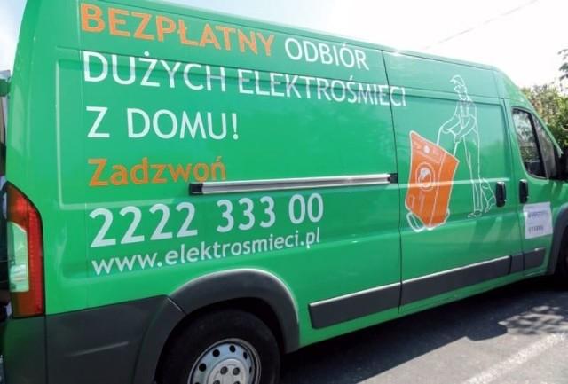 Mobilny punkt odbioru elektrośmieci