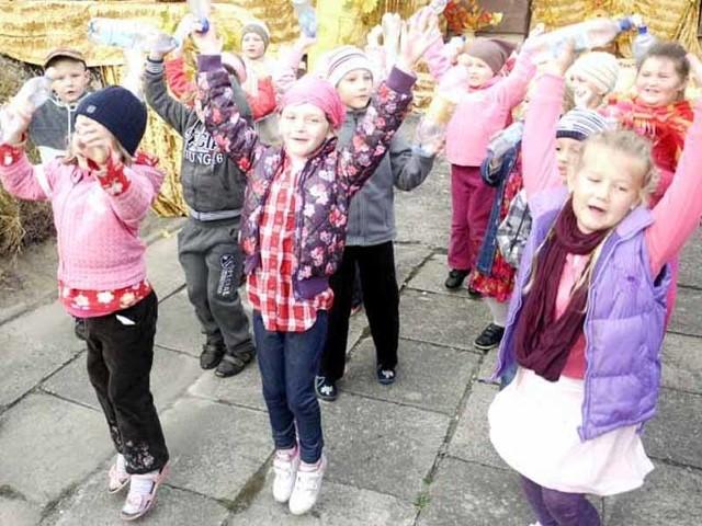 Dzieci z przedszkola nr 3 bawiły się bardzo dobrze