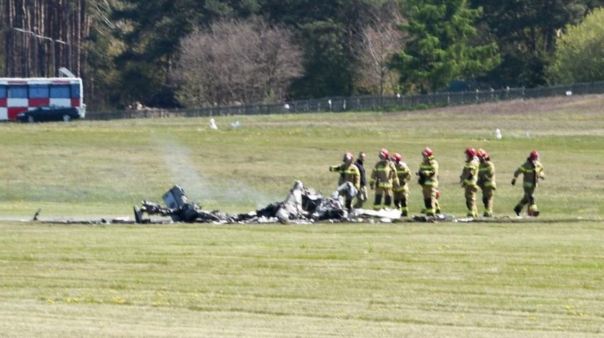 Na lotnisku w Przylepie w czasie lądowania rozbił się...