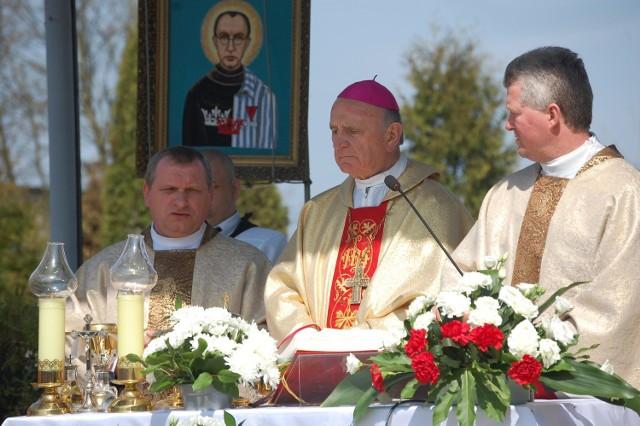 Uroczystej mszy św. przewodził ks. bp Stanisław Stefanek.