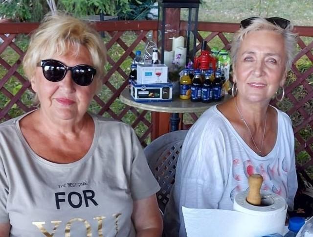 Marta Frankowicz i Halina Głowacka