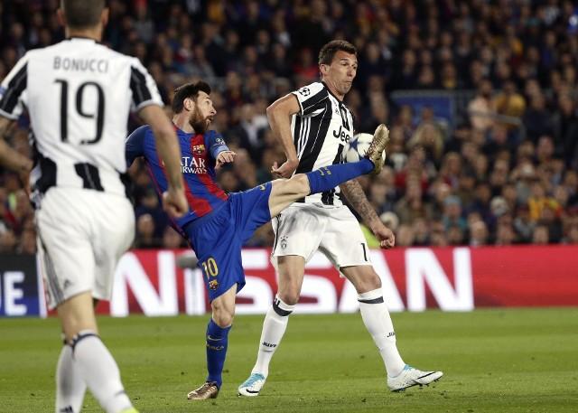 Leo Messi był bezradny w starciu z Starą Damą