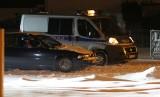 Ktoś strzelał do mężczyzn jadących bmw. Policjanci na tropie sprawców (ZDJĘCIA, AKTUALIZACJA)