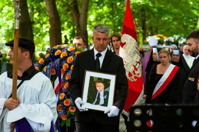 Prof. Stanisław Rodziński został pochowany na cmentarzu Rakowickim