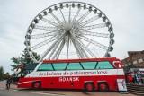 """""""Koło życia"""" zakręciło się w Gdańsku. Dochód z biletów na przejazd AmberSky zostanie przekazany na rzecz Fundacji Pomorze Dzieciom [zdjęcia]"""