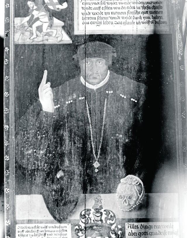 """Odrestaurowany obraz ma być pokazany już w maju w Muzeum Miedzi na polsko-niemieckiej wystawie """"Szlachta na Śląsku"""""""