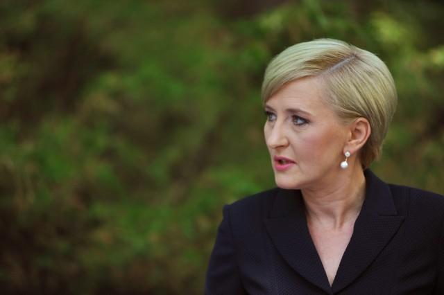 Agata Kornhauser-Duda będzie otrzymywać 55 proc. uposażenia małżonka.