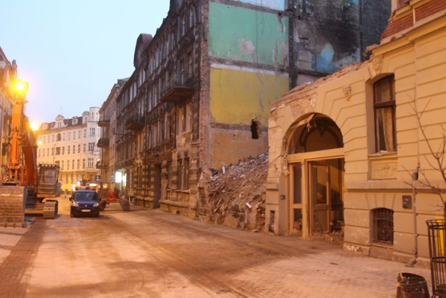 Wybuch w Katowicach. Kamienica przy Chopina 18 po wybuchu gazu