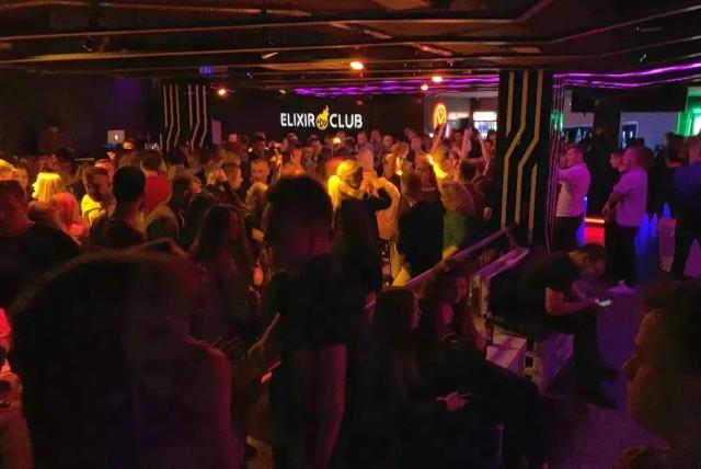 ELIXIR CLUB w Białymstoku został zamknięty i wystawiony na sprzedaż