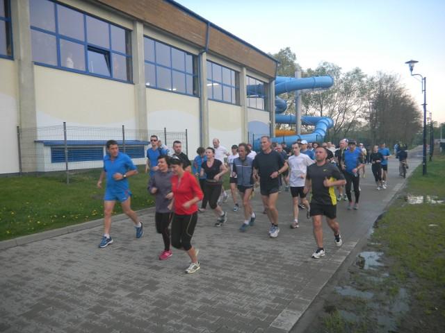 Ostatni trening przed niedzielnym biegiem poprowadziła jedna z najbardziej utytułowanych biegaczek w Polsce, Małgorzata Sobańska
