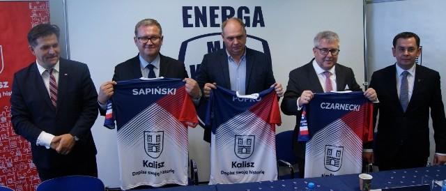 Informację o dołączeniu Energi MKS Kalisz do LSK przekazano na specjalnej konferencji