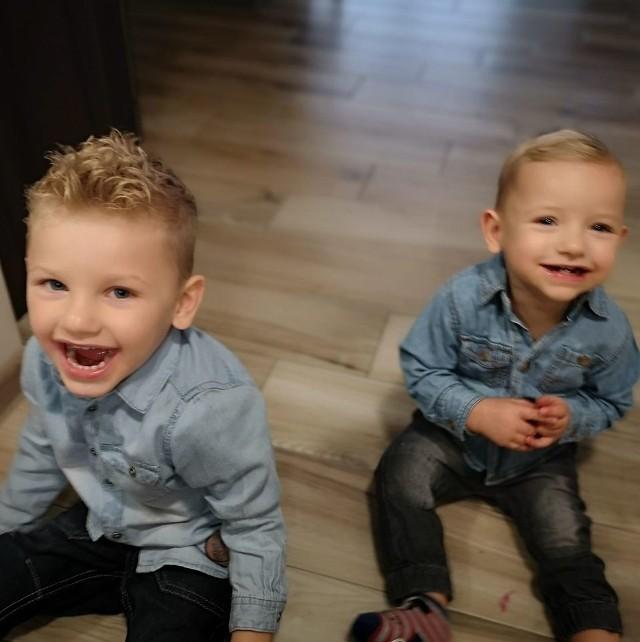 Filip i Mikołaj cierpią na rzadką chorobę genetyczną.