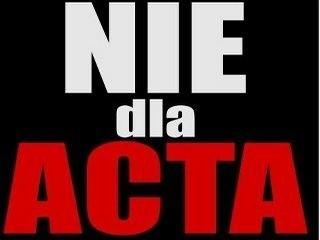 Nie dla ACTA w Szczecinie