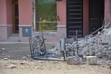 Zawalona kamienica w Rybniku. Część pracowników pod wpływem alkoholu. Policja szuka świadków z nagraniami katastrofy budowlanej