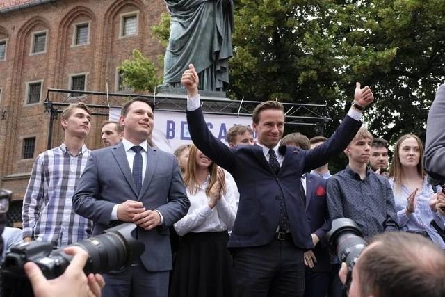 Do incydentu z samochodem Krzysztofa Bosaka doszło podczas kampanii prezydenckiej w 2020 roku.