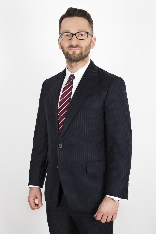 Konrad Wiśniowski, Vice President w Grupie GRENKE oraz Prezes Zarządu GRENKE w Polsce.