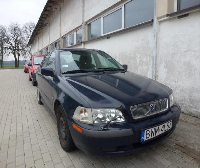 Samochód czeka na nowego właściciela. PODR ma do sprzedania VOLVO S40 1.8