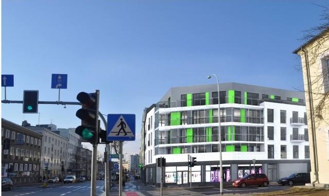 Tak będzie wyglądała kamienica u zbiegu Ogrodowej i Sienkiewicza w Białymstoku