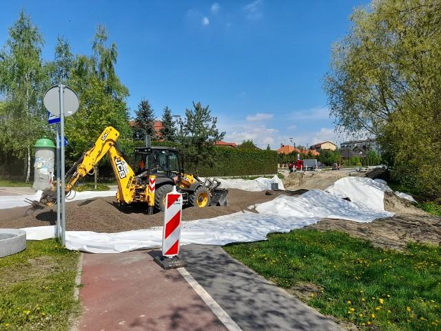 Z uwagi na prace prowadzone na ul. Stefana Żeromskiego ulica została wyłączona z ruchu