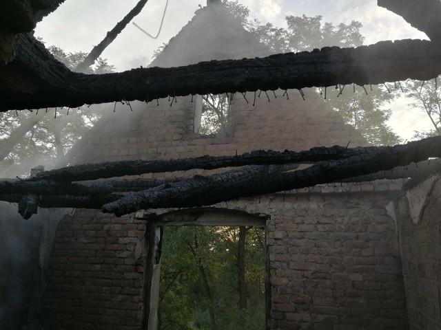 Akcja ratowniczo-gaśnicza trwała pięć godzin. Z żywiołem walczyło 30 strażaków zawodowych i ochotników.