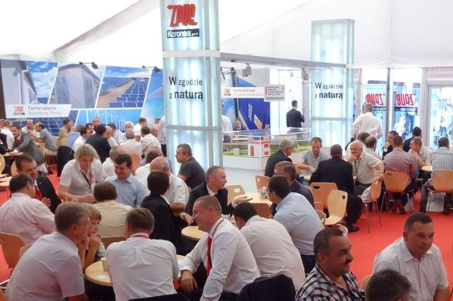 Na targowym stoisku nagrodzonej włoszczowskiej firmy w Bielsku-Białej gości nie brakowało.