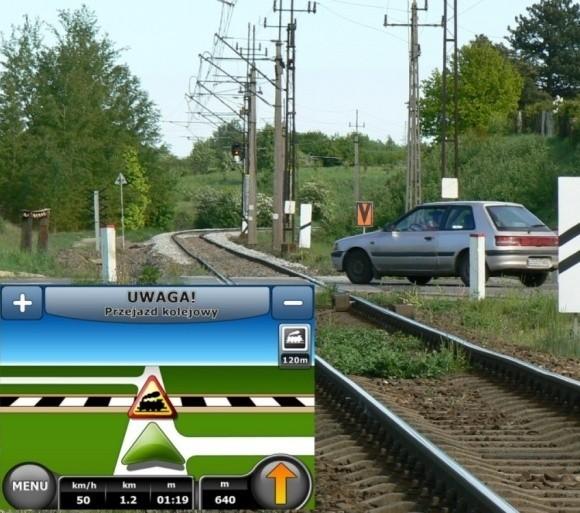 Kolejarze chcą, by przejazdy były bezpieczne. Stąd też pomysł na komunikat w GPS o zbliżaniu się kierowcy do takiej przeszkody na drodze.