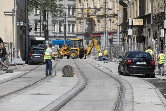 Tramwaj wraca na ulicę Krakowską