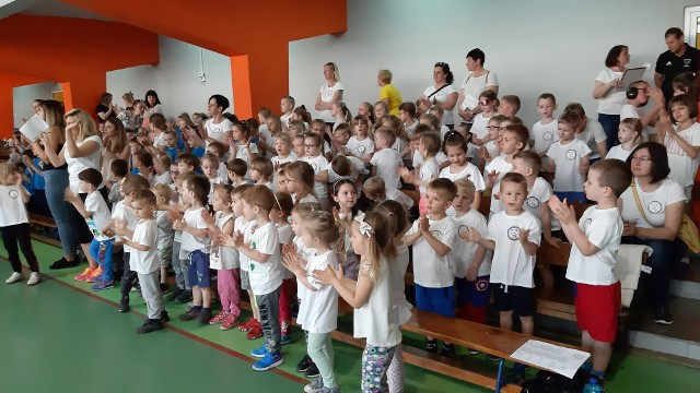 Impreza odbyła się już po raz piętnasty i miała zachęcać dzieci do uprawiania sportów.