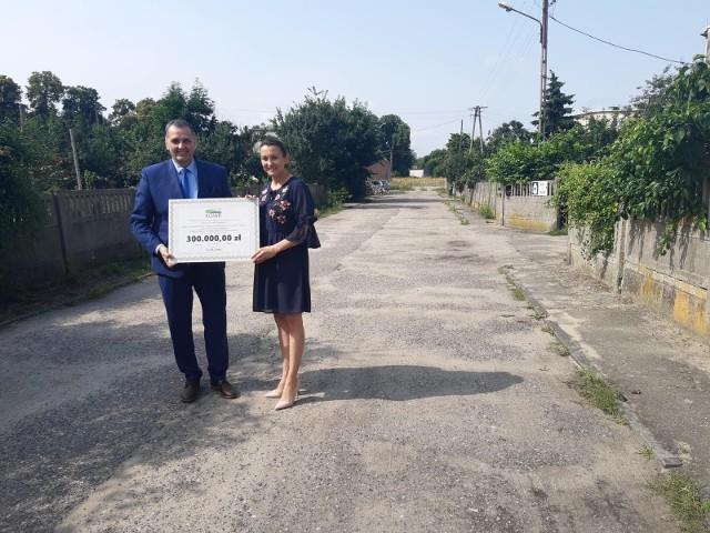Gmina Bledzew otrzymała dofinansowanie z Krajowego Ośrodka Wsparcia Rolnictwa.