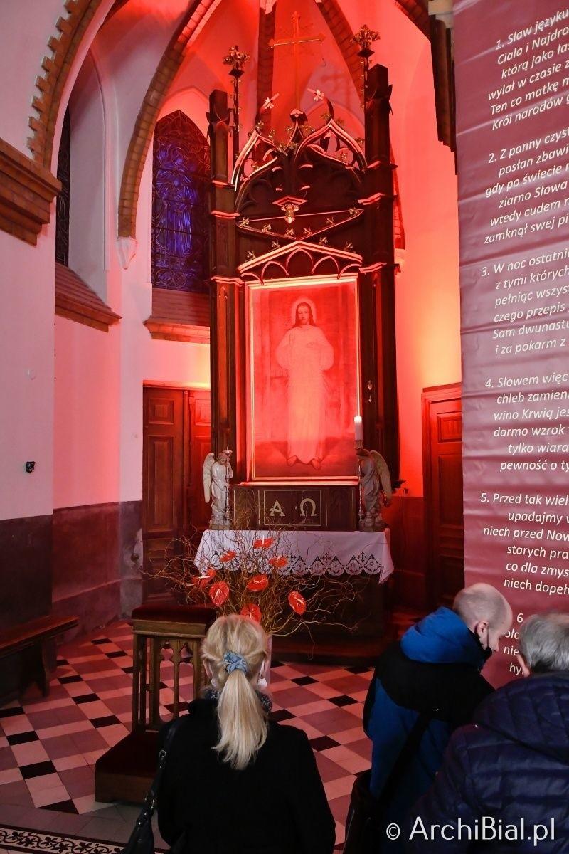 Liturgia Wieczerzy Pańskiej w Archikatedrze Białostockiej