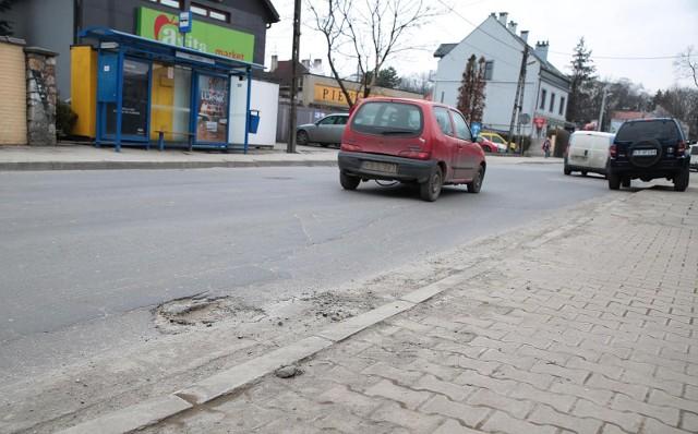 Wyremontowany zostanie fragment ulicy Królowej Jadwigi - na odcinku od ul. Robla do ul. Tondosa